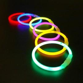 Premium glow bracelets, 100 pack – Bild 10