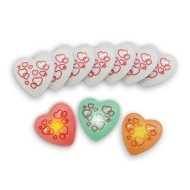100x Love messenger flashing heart – Bild 3