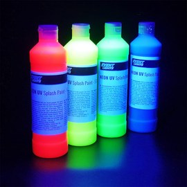 Neon UV Splash paint Set 4 x 500ml – Bild 3