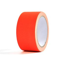 Neon UV tape - Orange, 20 m – Bild 2