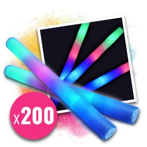 LED pompom stick 48 cm - 200 pcs
