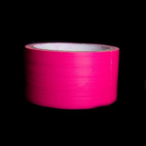 Blacklight neon tape roze - 2 stuks