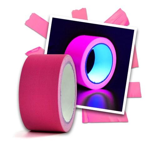 Neon Klebeband pink - 20 m
