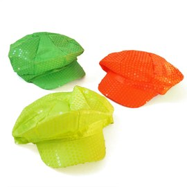 Neon UV cap set - yellow, orange, green – Bild 3