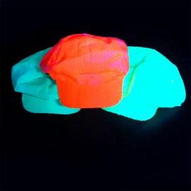 Neon UV cap set - yellow, orange, green – Bild 4