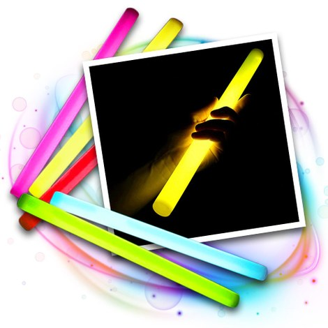 25x Mega glowstick 360x30mm