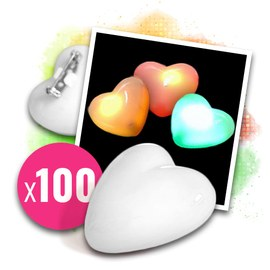 100x Love messenger flashing heart without overprint – Bild 1