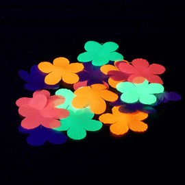 Decorative Hawaiian flowers - Table confetti - 900 pieces – Bild 4
