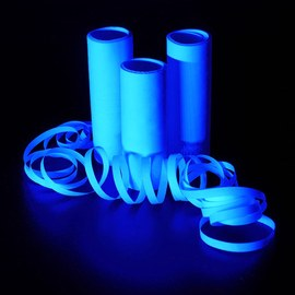 White UV streamers - 12 rolls – Bild 3