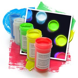 Eventlights NEON UV paint 5 x 50 ml – Bild 1