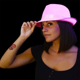 UV Neon Tribly Hat pink – Bild 3