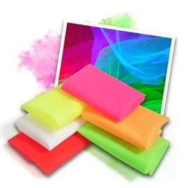 Neon UV tulle - 6 colours – Bild 1