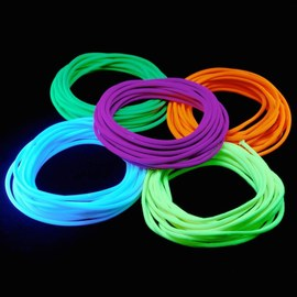 Blacklight neon touwen set 25m – Bild 1